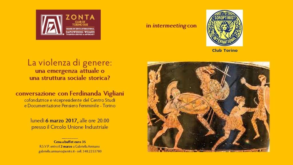 Torino 2 conferenza 6 marzo
